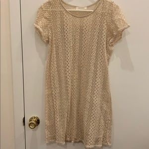 Annianna lace detailed lined dress size small